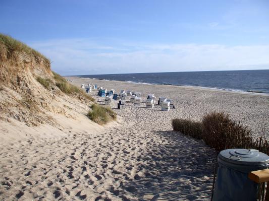 Der Strandabschnitt Oase. (Sylt) (© Gisela Perlwitz | Benefeld)