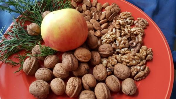 Apfel-Nuss-und-Mandelkern