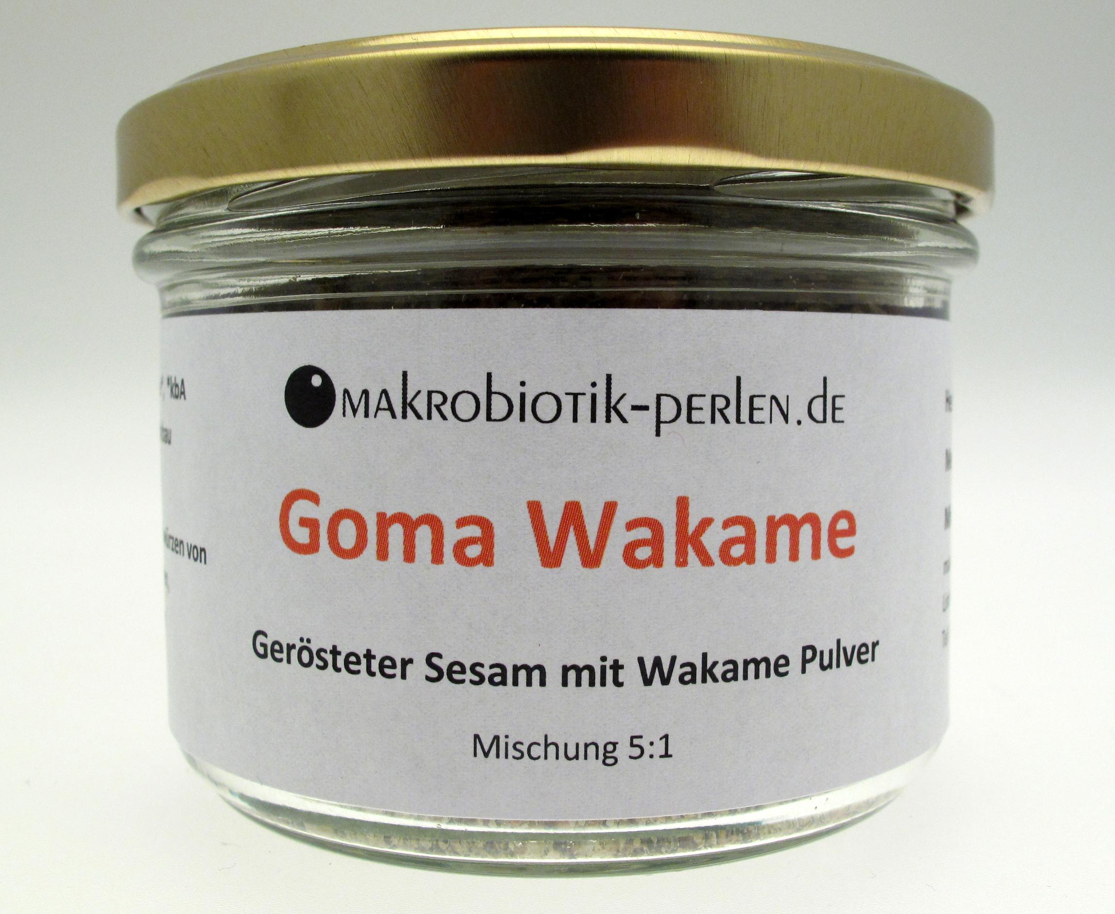goma wakame ger steter sesam mit wakame pulver spezialit ten aus dem suribachi aus unserer. Black Bedroom Furniture Sets. Home Design Ideas